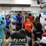 岡山シーガルズ、三宅医院フェスティバルに参加。