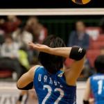 Vプレミアリーグ大阪大会は1勝1敗の五分。